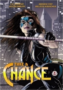 Take A Chance graphic novel cover