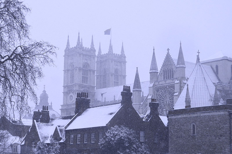 Westminster in Snow
