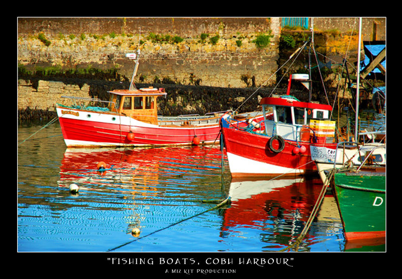Fishing Boats, Cobh Harbour