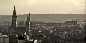 Cork City Skyline