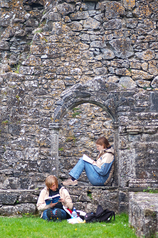 Reading at Hore Abbey