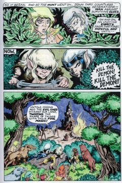 Elfquest Graphic Novel 'Coloring Book', page 5