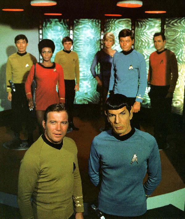 Image result for the debut of the first episode of the original star trek 'man trap'