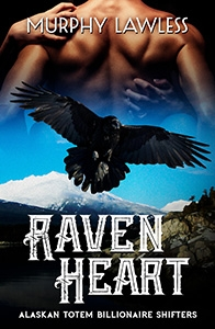 Cover for Raven Heart, a Murphy Lawless Novella