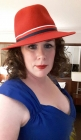 """Gratifyingly, the moment I walked out the hotel room door someone said, """"AGENT CARTER!!!"""" :) :) :)"""